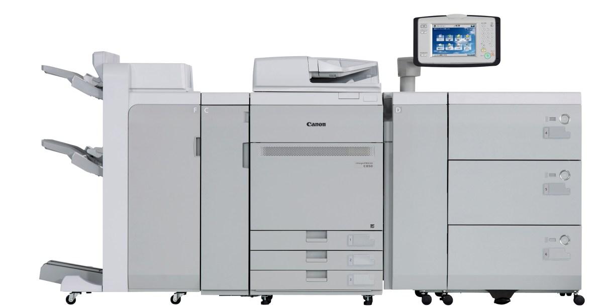 Imagepress C650 C750 C850 Color Digital Press