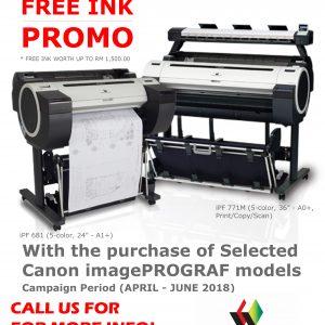 180503 - iPF Free Ink Promo