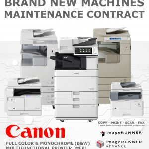 CANON MFP / Copier Rental - B&W and FULL COLOR