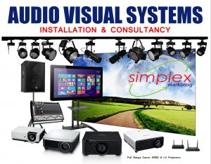 AUDIO VISUAL SYSTEMS - Projector Installation & Consultancy