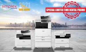 MFP / Copier Limited Time Promo - Q2 2021